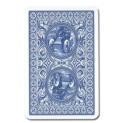 Modiano Golden Trophy Poker Playing Cards - Blue