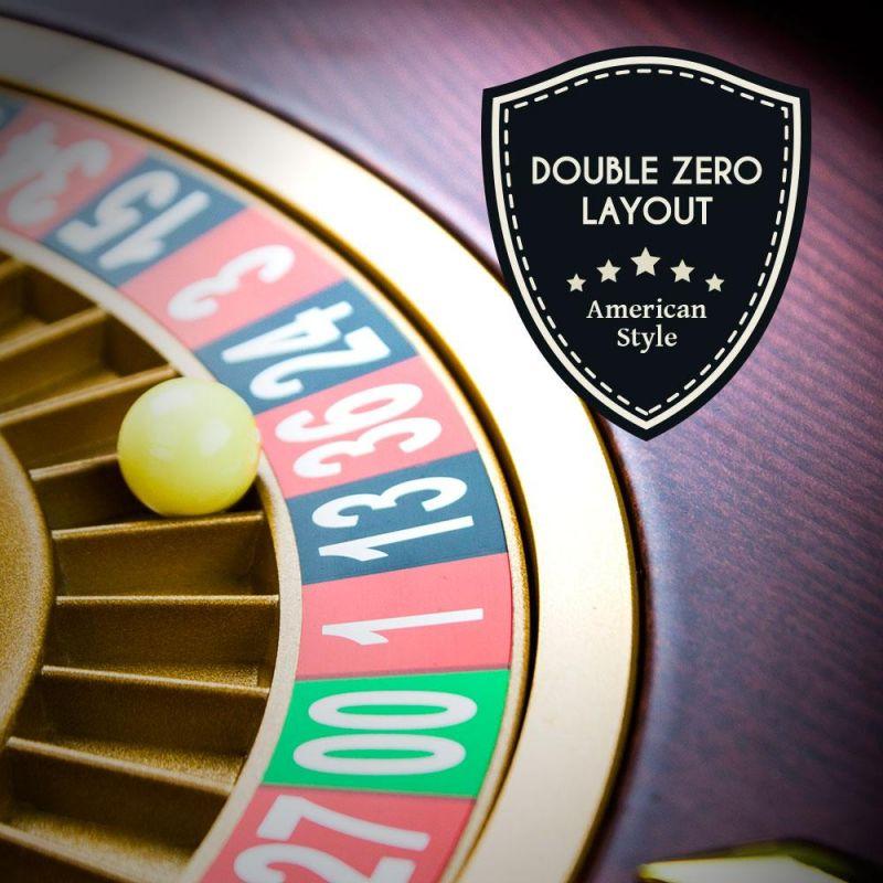 "18"" Casino Grade Deluxe Wooden Roulette Wheel"