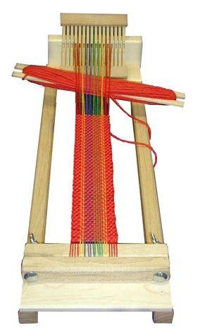 """Beka RH Series 4"""" Beginner's Weaving Loom: RH-4"""
