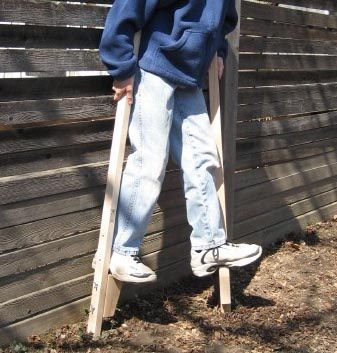 "Beka Traditional Wooden Maple Stilts: Regular, 47.5"""