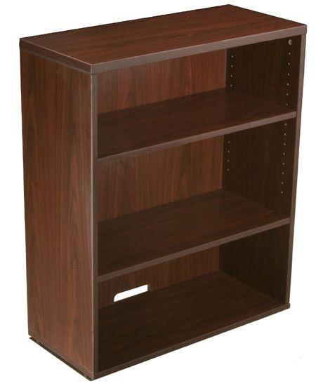 Boss Open Hutch/bookcase- Mahogany