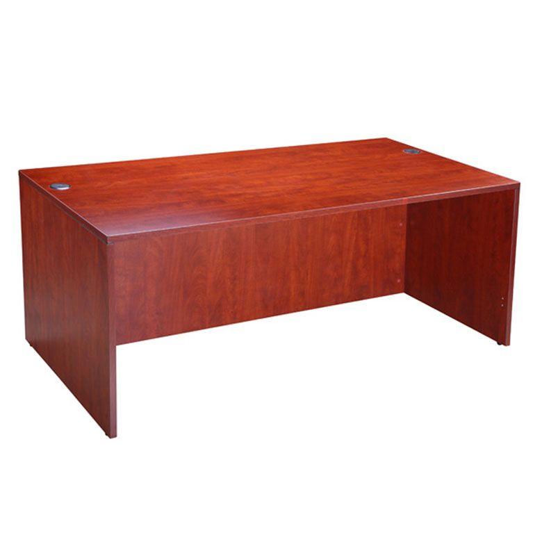 Boss Desk Shell, 71″w X 36″d, Cherry