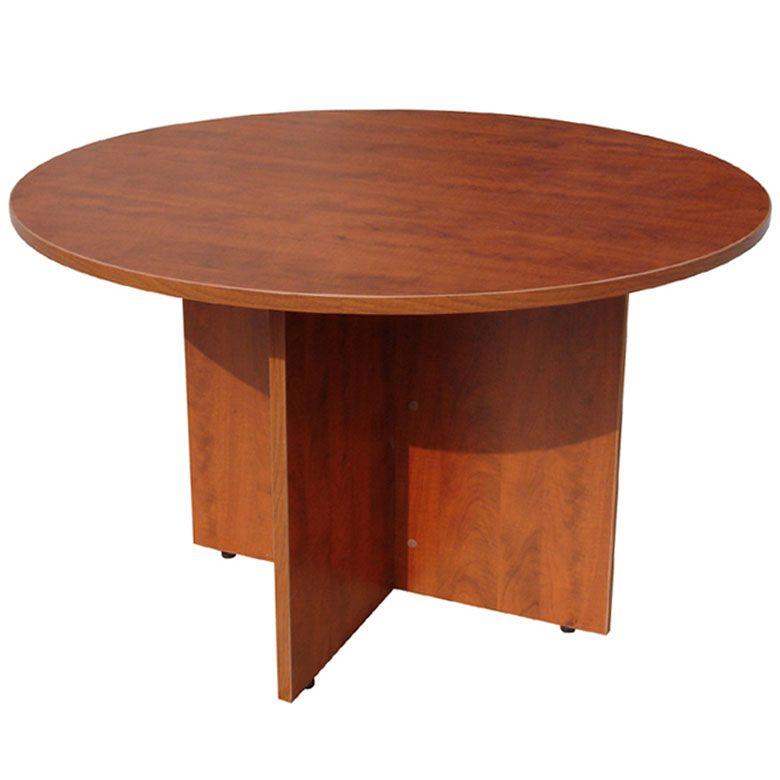 Boss 47″ Round Table, Cherry