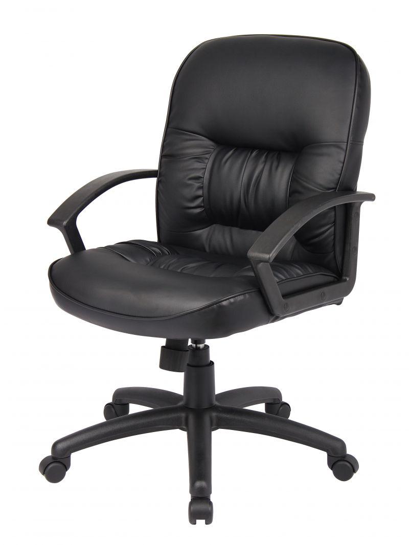 Boss Mid Back Leatherplus Chair