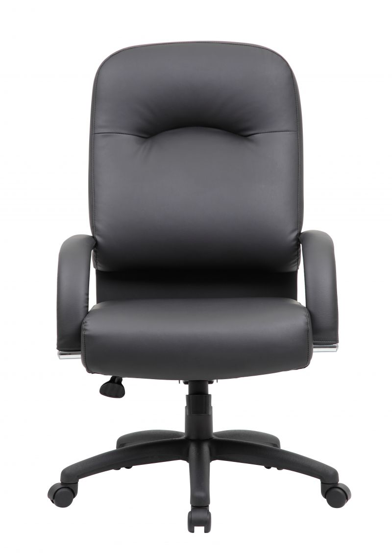 Boss High Back Caressoft™ Chair In Black