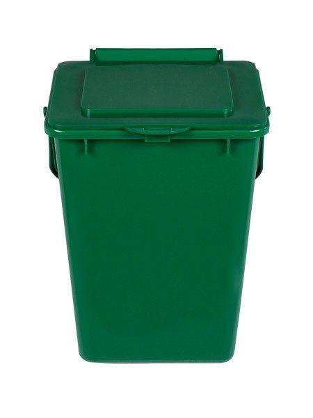 Busch Systems Kitchen Composter: Solid Lid, 2.25G, Green