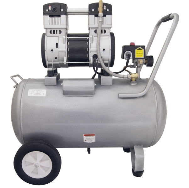 CAT 15020C Air Compressor: 2.0 HP, 15.0 Gal. Steel Tank, Ultra Quiet, Oil-Free, Powerful: (Airbrushing, Tattooing, Industry, Medical)