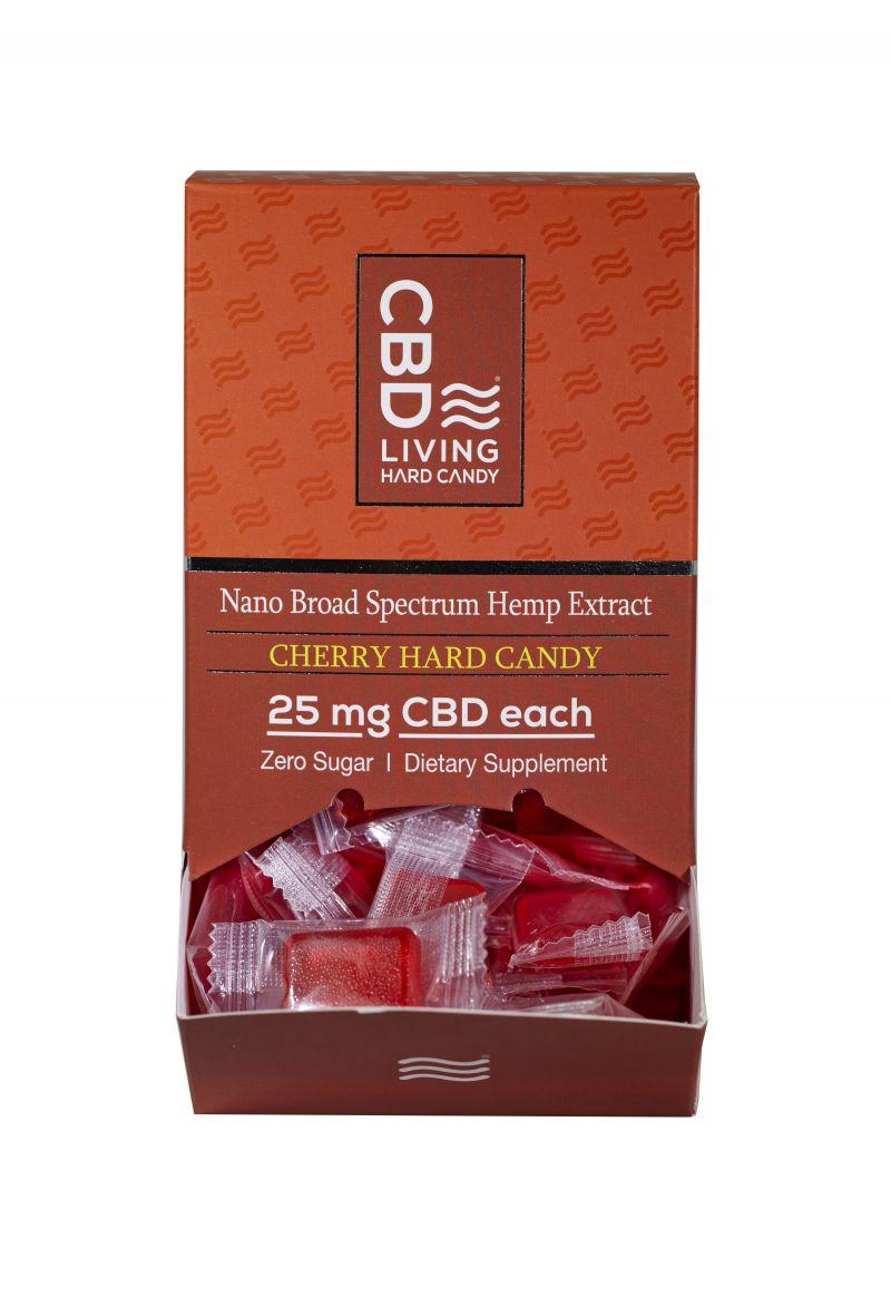 Cbd Hard Candy Cherry Box