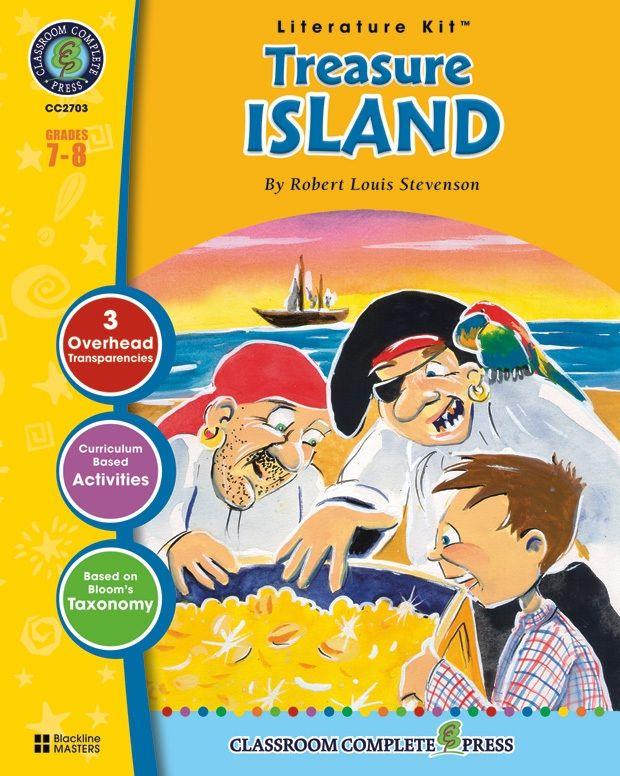 Classroom Complete Regular Education Literature Kit: Treasure Island, Grades - 7, 8