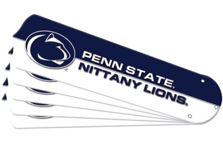 """New Ncaa Penn State Nittany Lions 42"""" Ceiling Fan Blade Set"""