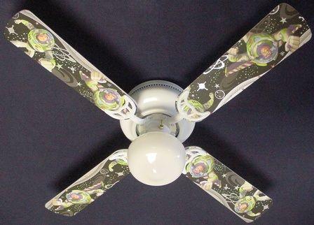 """New Buzz Lightyear Ceiling Fan 42"""""""