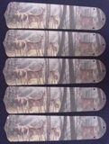 "New Deer Buck Doe Hunting 52"" Ceiling Fan Blades Only"