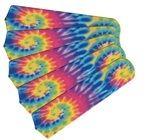 """New Psychedelic Tye Dye 52"""" Ceiling Fan Blades Only"""