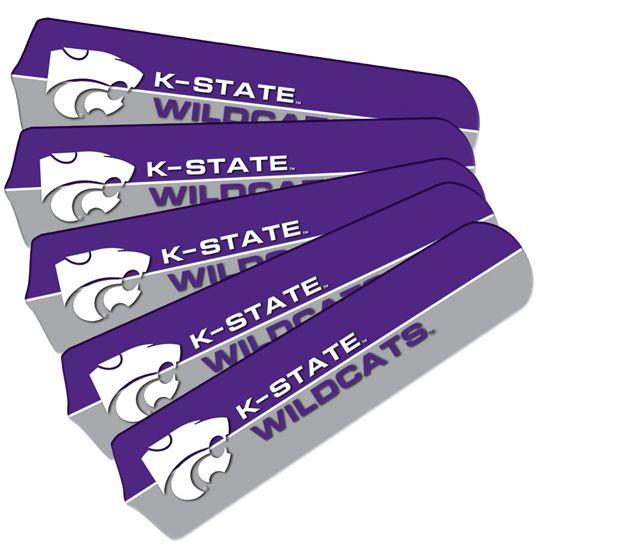 "New Ncaa Kansas State Wildcats 42"" Ceiling Fan"