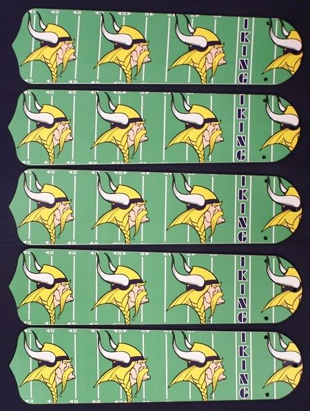 Ceiling Fan Designers NFL Minnesota Vikings Fan/Blades