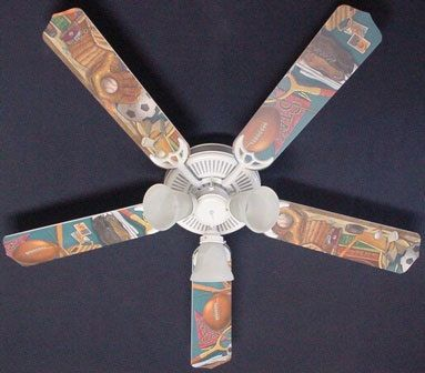 Ceiling Fan Designers Classic Sports Fan/Blades