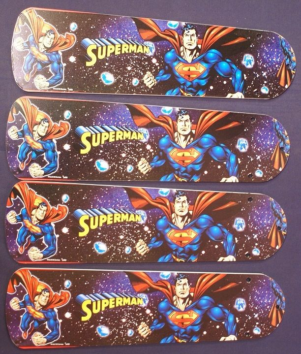 "New Superman Dc Hero Superhero Ceiling Fan 42"""
