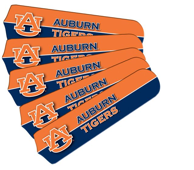 """New Ncaa Auburn Tigers 42"""" Ceiling Fan"""