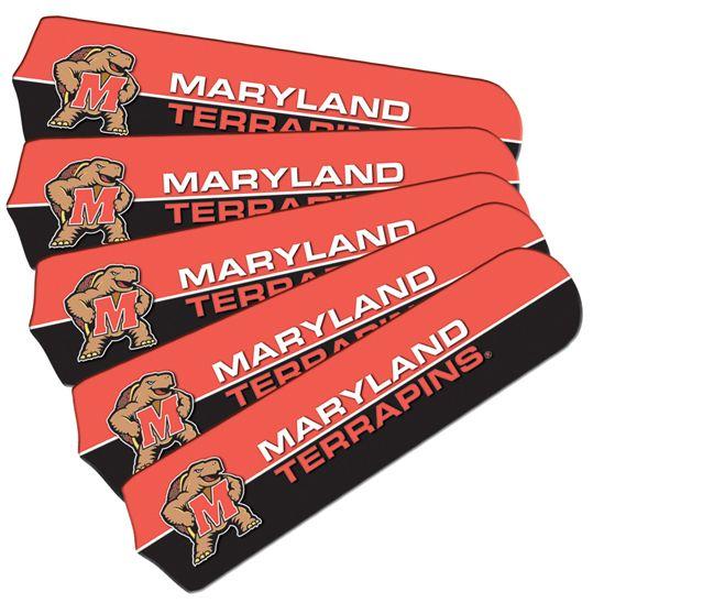 "New Ncaa Maryland Terrapins 42"" Ceiling Fan"