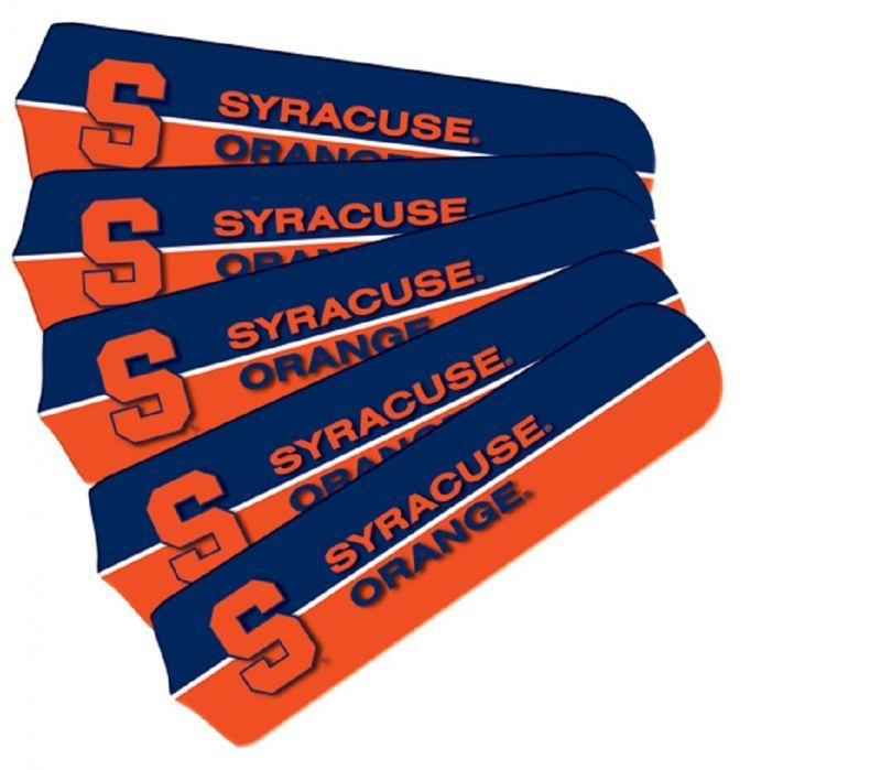 "New Ncaa Syracuse Orange 42"" Ceiling Fan"