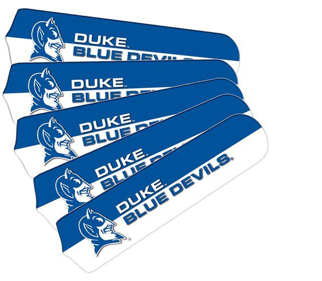 """New Ncaa Duke Blue Devils 42"""" Ceiling Fan"""