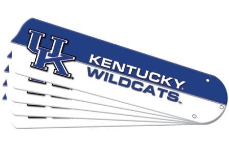 """New Ncaa Kentucky Wildcats 52"""" Ceiling Fan Blade Set"""