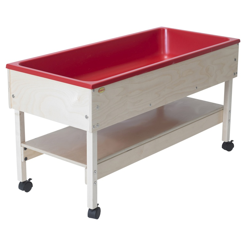 Sand & Water Table With Shelf
