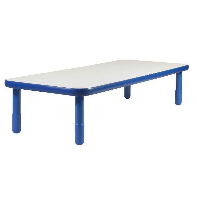 Baseline® 72″ X 30″ Rectangular Table – Royal Blue With 16″ Legs