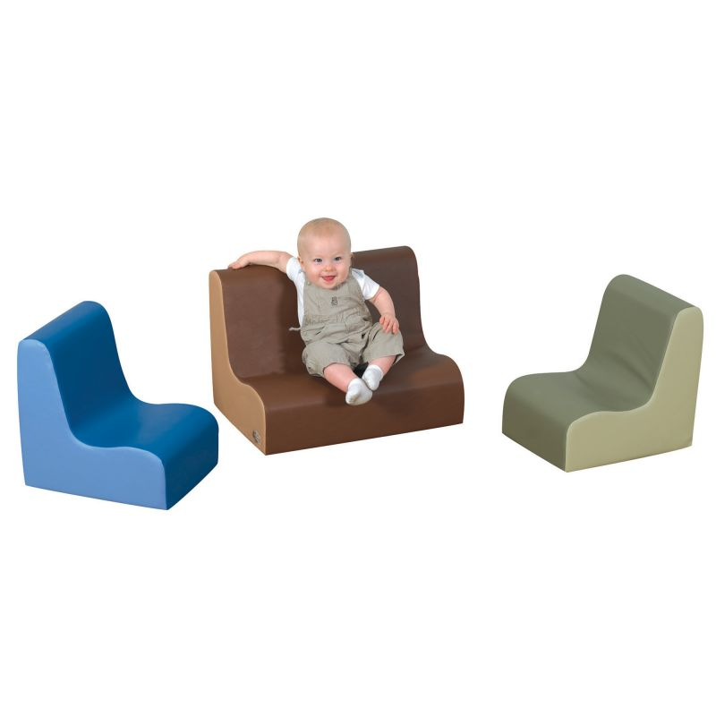 Little Tot Contour Seating – Woodland 3 Piece