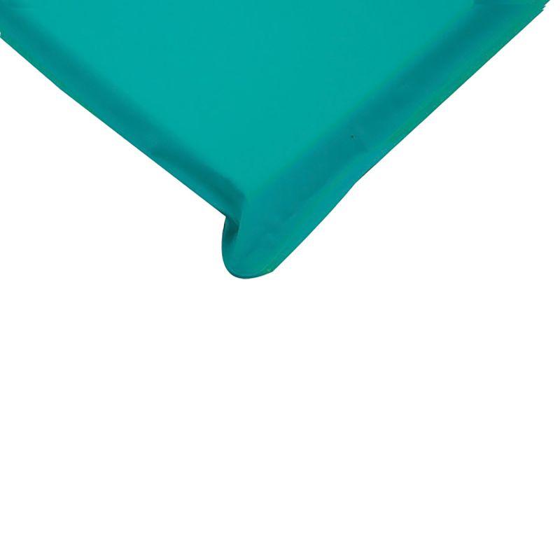 Angels Rest™ Nap Mat 2″ – Teal/blue 3-section Folding Mat