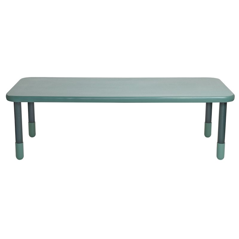 Baseline® 72″ X 30″ Rectangular Table – Teal Green With 22″ Legs