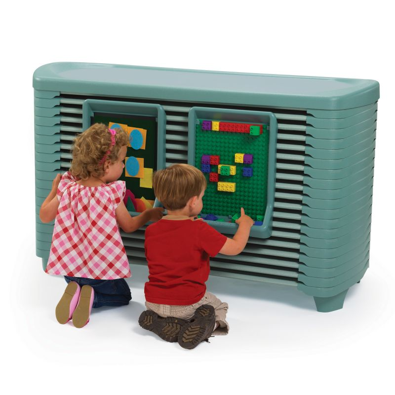 Spaceline® Activity Center With Spaceline® Cots – Teal Green