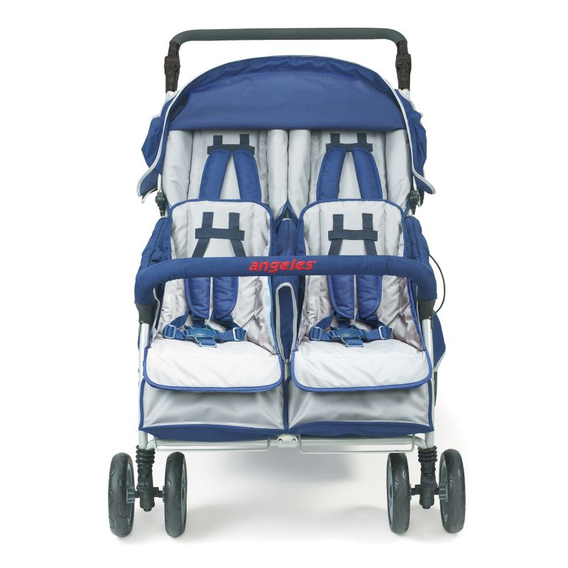 Surestop® Folding Commercial Bye-bye® Stroller 4 Passenger