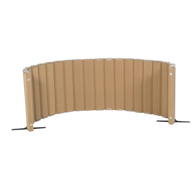 Quiet Divider® With Sound Sponge® 30″ X 10′ Wall – Natural Tan