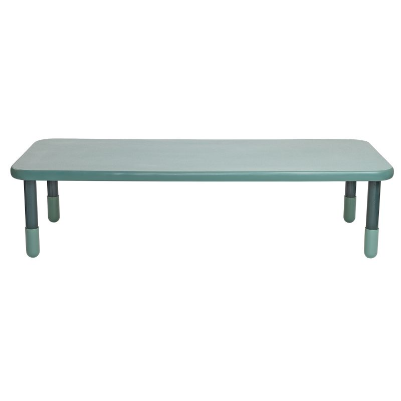 Baseline® 72″ X 30″ Rectangular Table – Teal Green With 18″ Legs