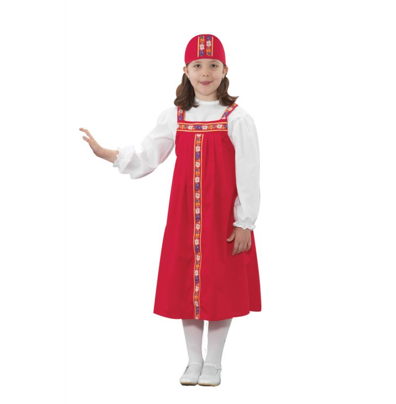 Russian Girl Costume