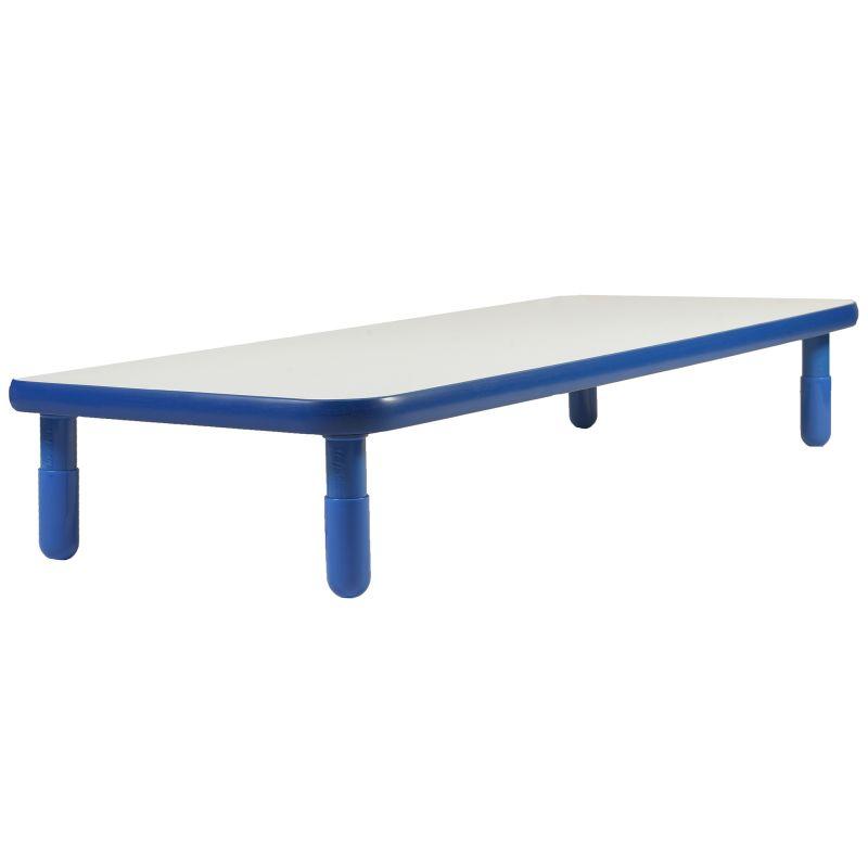Baseline® 72″ X 30″ Rectangular Table – Royal Blue With 12″ Legs