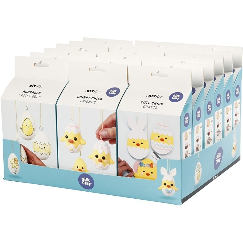 Creativ Company Easter Eggs, Friends And Family, 18 Set