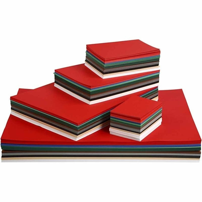 Colortime Christmas Card, Assorted Colours, A2,a3,a4,a5,a6, 180 G, 1800 Ass Sheets