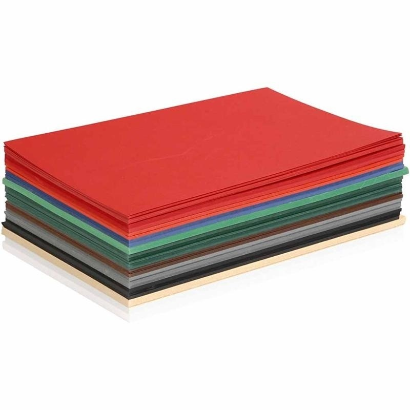 Colortime Christmas Card, Assorted Colours, A5, 148x210 Mm, 180 G, 300 Ass Sheets