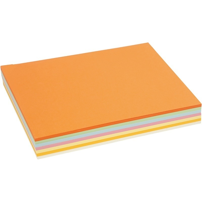 Creativ Company Pastel Card, Pastel Colours, A4, 210x297 Mm, 160 G, 210 Ass Sheets