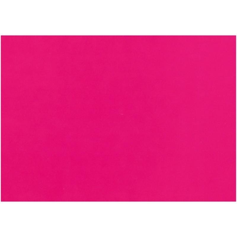 Creativ Company Glazed Paper, Pink, 32x48 Cm, 80 G, 25 Sheet, 1 Pack
