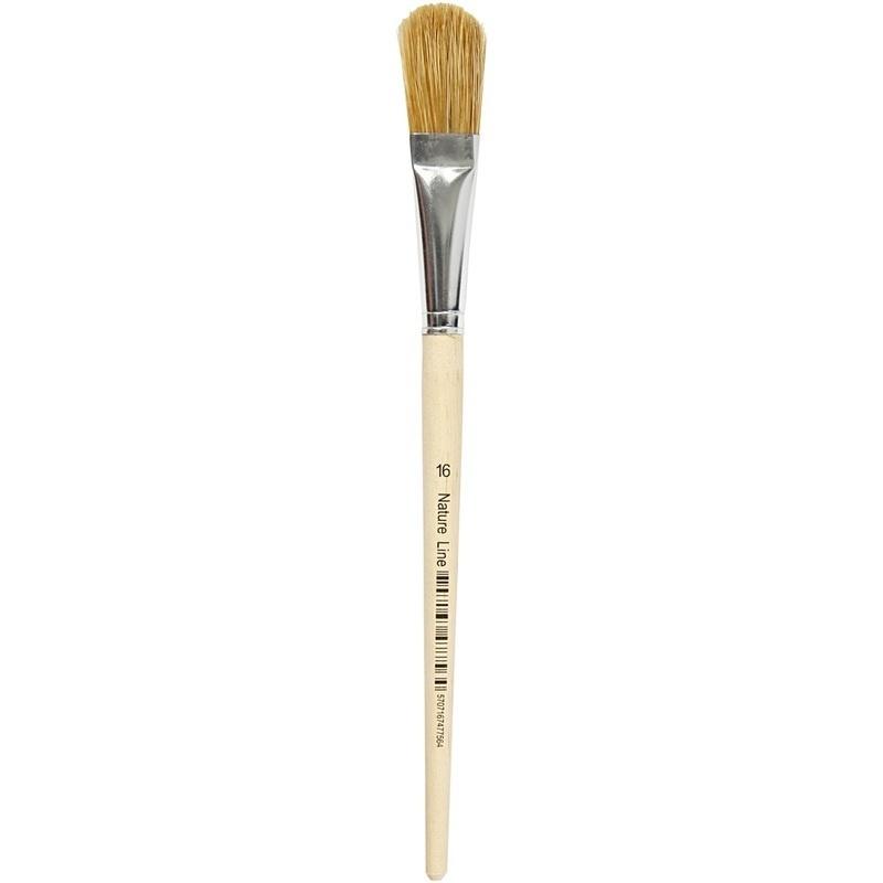 Creativ Company Varnish Brushes, 16, W: 17 Mm, 12 Pc