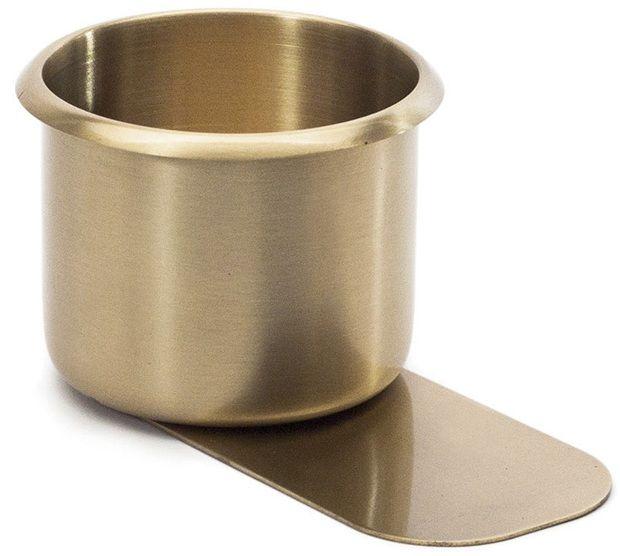 Brass Slide Under Drink Holder