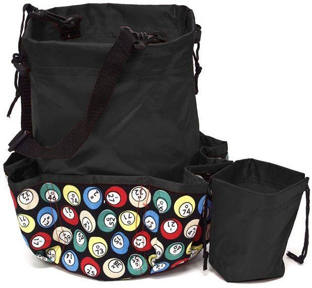 10 Pocket Bingo Ball Designer Bag With Coin Purse