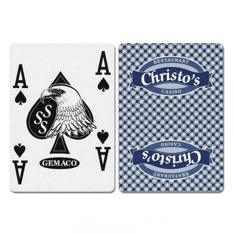 Christo's New Uncancelled Casino Playing Cards
