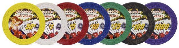 7.5 Gram Showgirl Poker Chips (25/pkg)