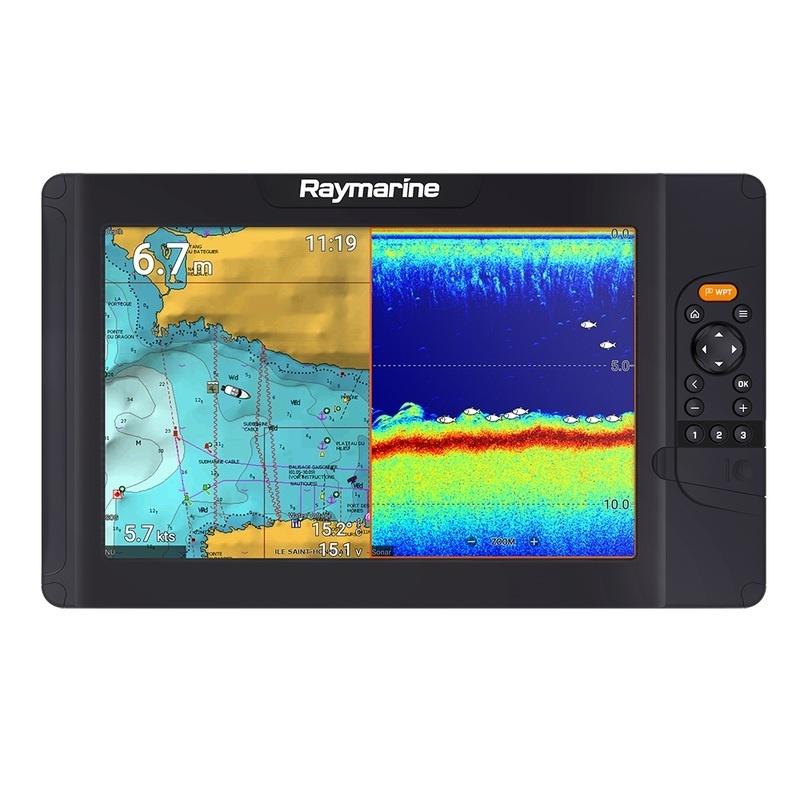 Raymarine Element 12 S W/navionics+ Us & Canada Chart - No Transducer