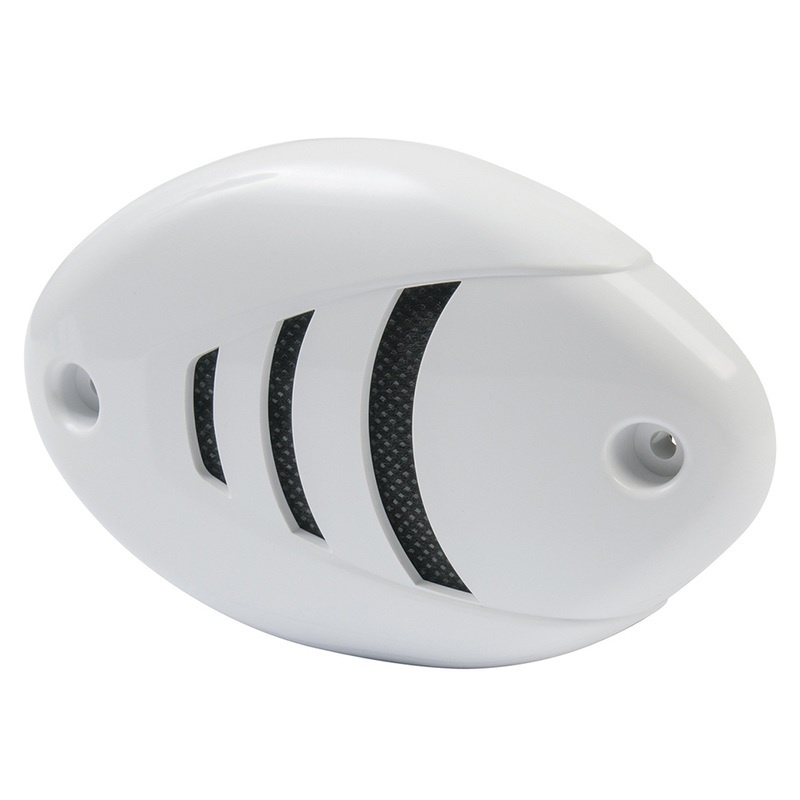 Marinco 12v Drop-in Low Profile Horn W/black & White Grills