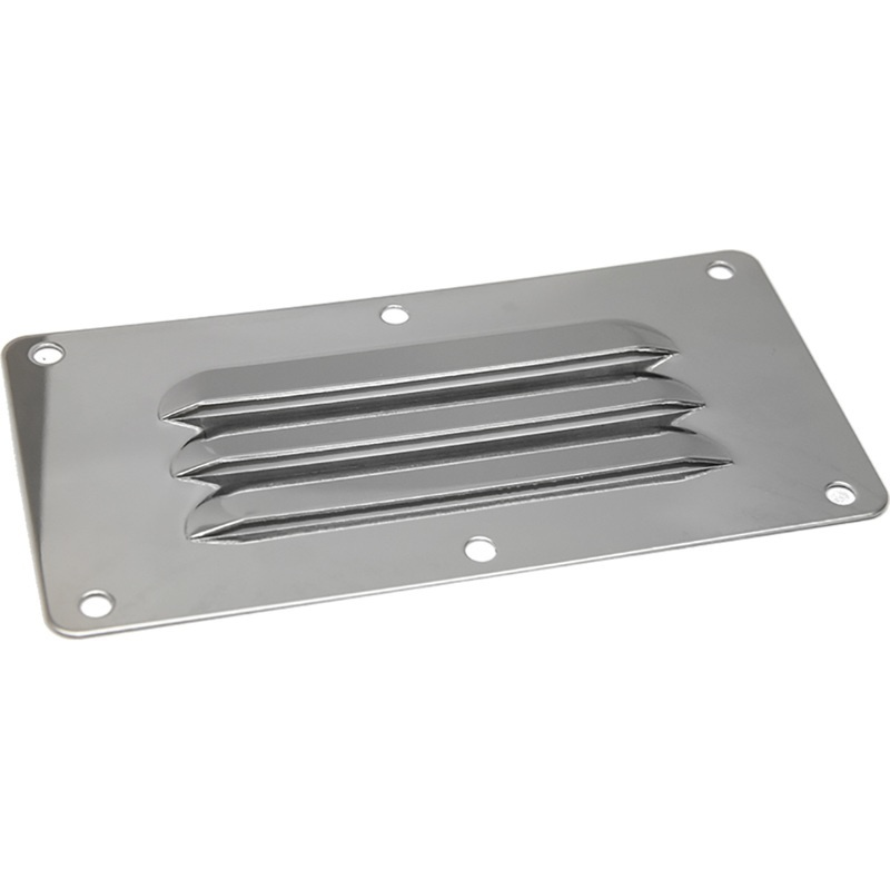 """Sea-dog Stainless Steel Louvered Vent - 5"""" X 4-5/8"""""""